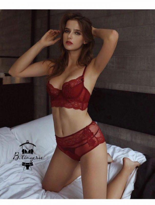 Áo Lót Nữ Ren Hoa Bandeau