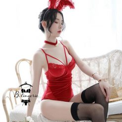 Cosplay Bodysuit Red