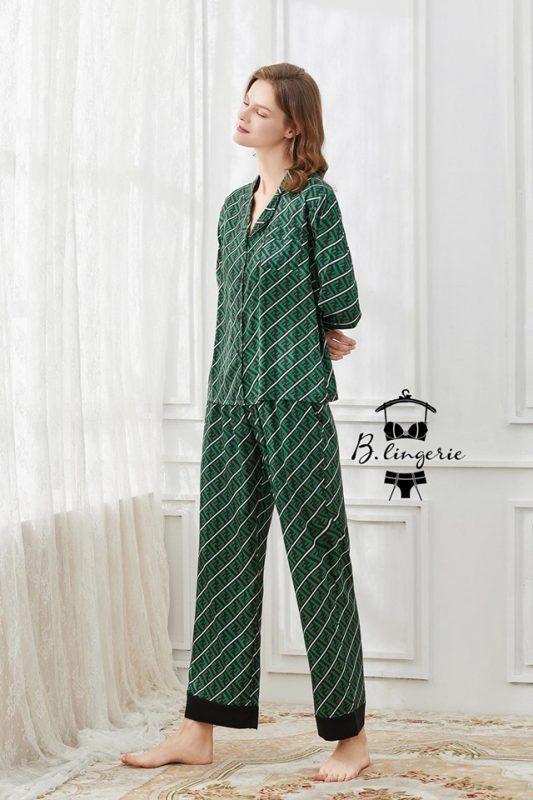 Đồ Ngủ Pijama F.E.N.D.I - BO664