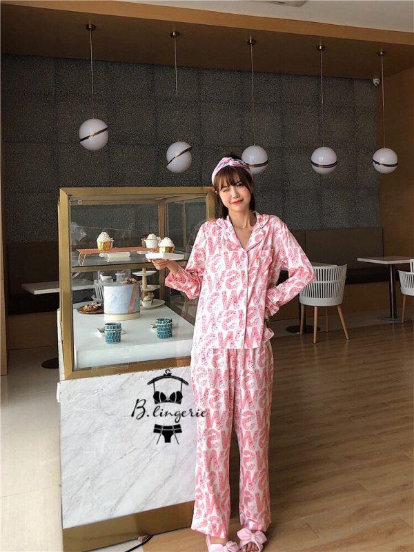Đồ Bộ Ngủ Pijama Dài - BO714