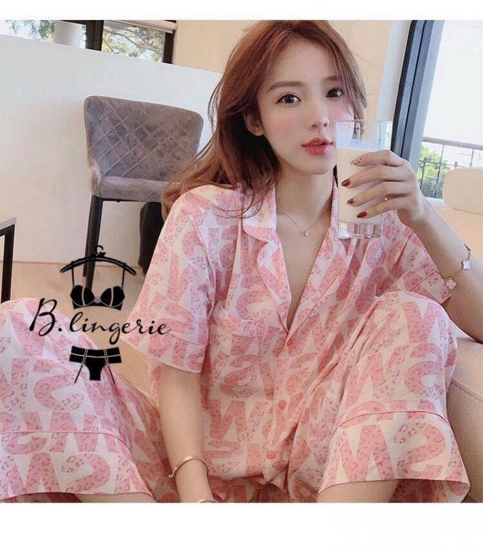 Đồ Bộ Pijama Lụa Satin - BO637