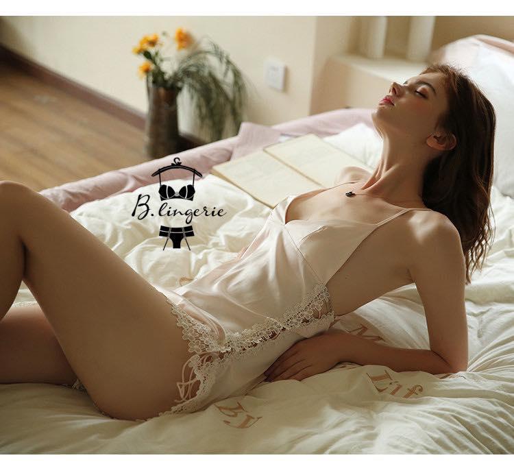 Váy Ngủ Màu Da Gợi Cảm