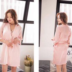 Áo Choàng & Váy Ngủ - D347