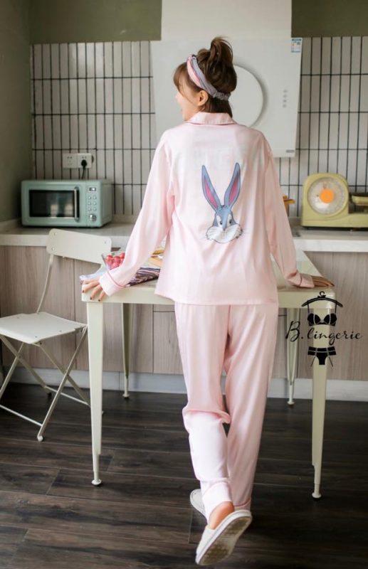 Pijama Cao Cấp Thỏ Bugs - B845