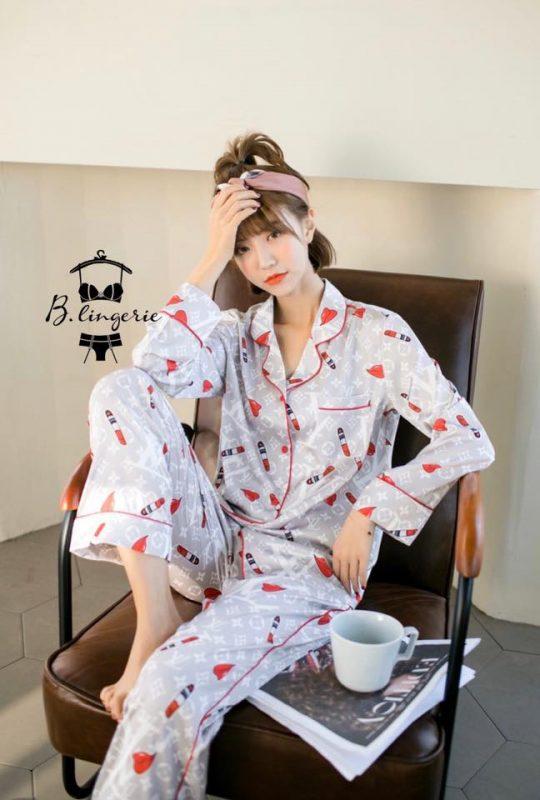 Pijama Dễ Thương Cây Son - B845