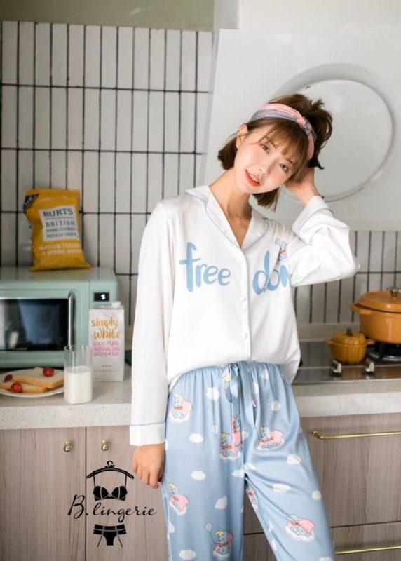 Pijama Dài Chú Voi Dumbo - B845