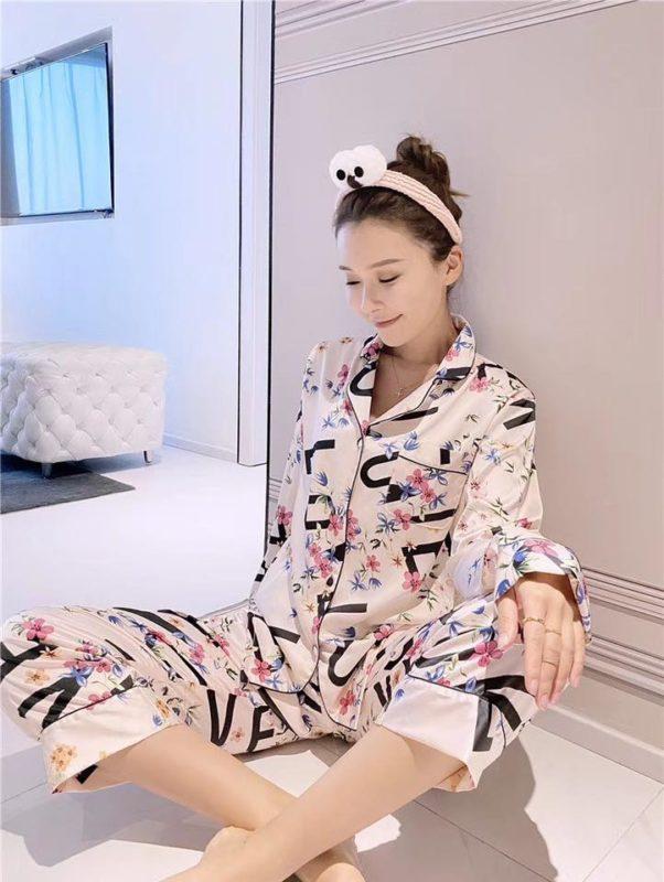 Đồ Pijama Lụa Trắng - BO860