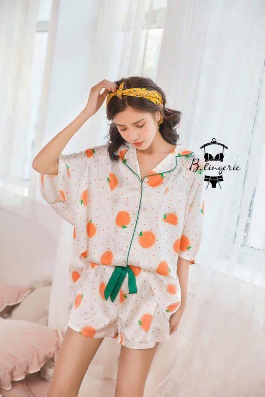 Đồ Bộ Pijama Lửng Dễ Thương - BO899
