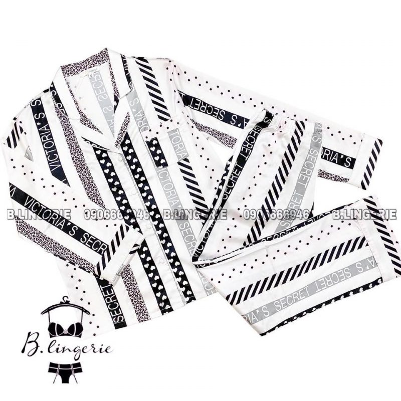 Pijama Lụa Cao Cấp - BO817