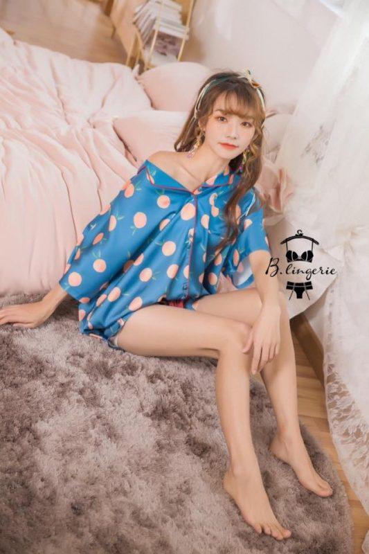 Đồ Bộ Pijama Nữ Cộc Tay - BO899