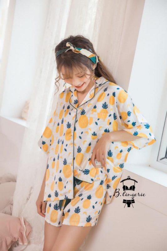 Đồ Pijama Nữ Quần Ngắn - BO899