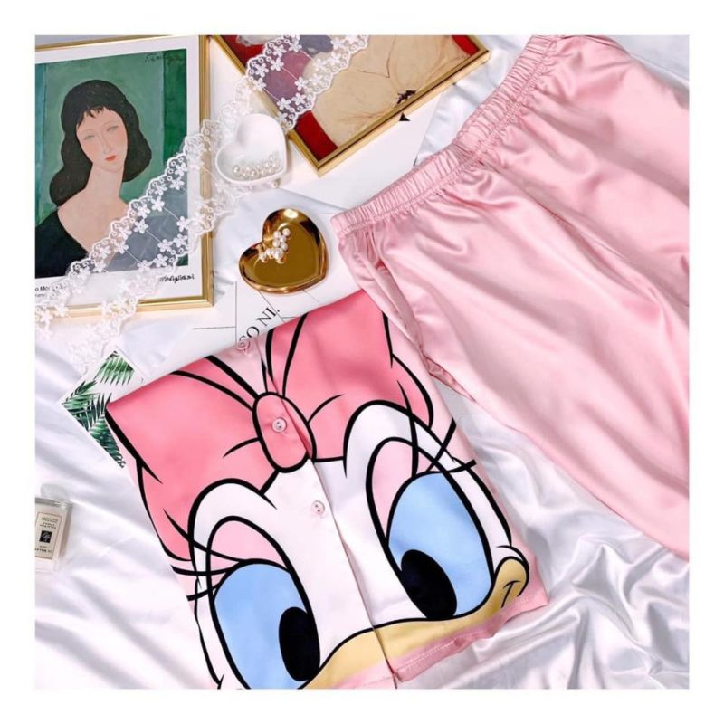 Pijama Hoạt Hình Vịt Daisy - BO909