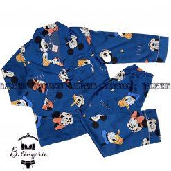 Đồ Bộ Pijama Chuột Mickey