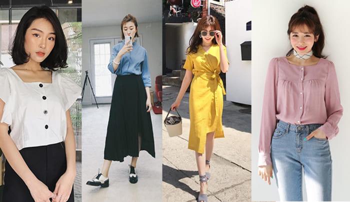 cách chọn váy theo dáng người mặc