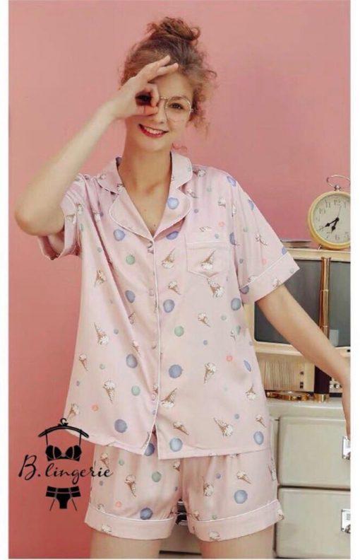 Đồ Bộ Pijama Ngắn - BO463