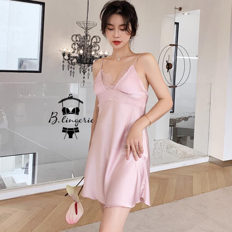 Váy Ngủ Khoác Áo Choàng