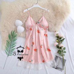 Váy Ngủ 2 Dây Ngắn