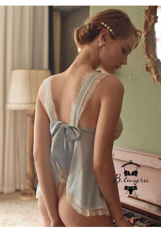 Váy Ngủ Dễ Thương Xanh