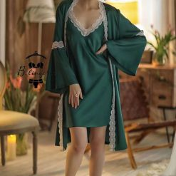 Váy Ngủ Quý Phái & Áo Choàng - D476