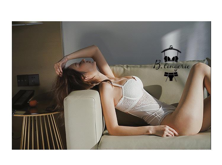Bodysuit Nữ Dây Buộc Gợi Cảm Trắng