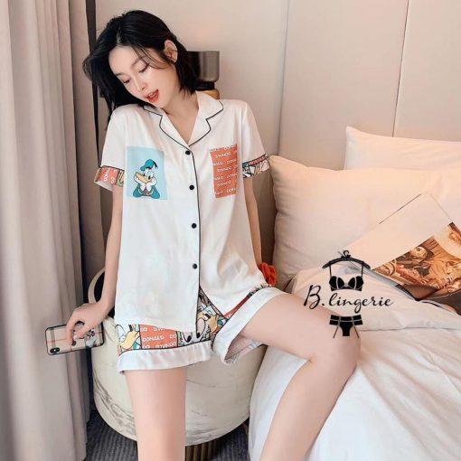 Đồ Ngủ Pijama Nữ Ngắn