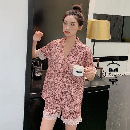 Đồ Bộ Pijama Ngắn Đáng Yêu