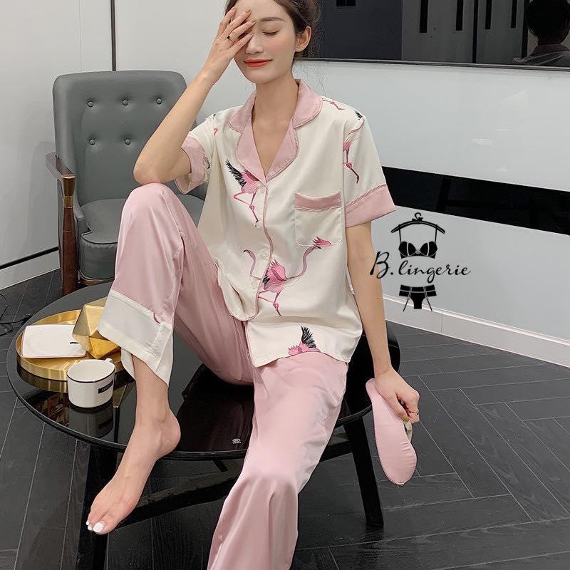 Đồ Ngủ Pijama Ngắn Tay