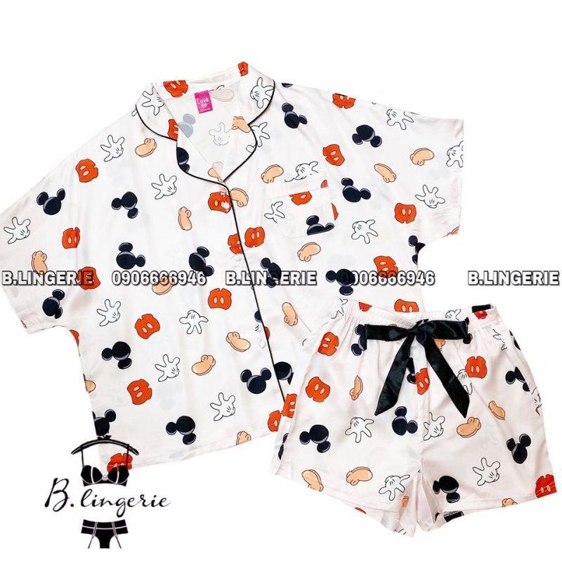 Pijama Nữ Đẹp Dễ Thương - BO899