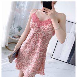 Váy Ngủ 2 Dây Phi Lụa - D491