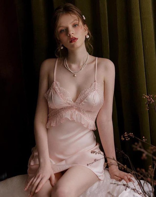 Váy Ngủ Kiểu Dáng Quyến Rũ