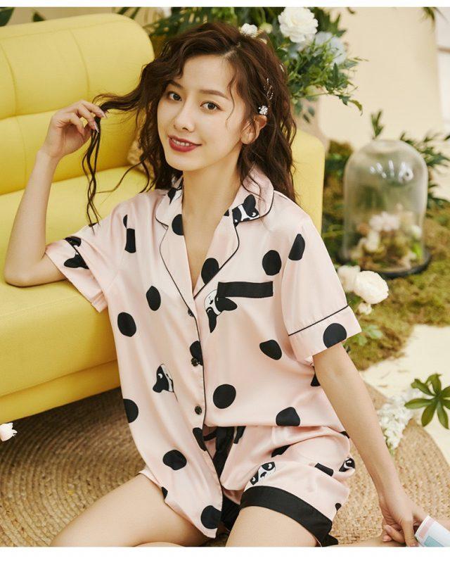 Đồ Ngủ Pijama Chấm Bi - BO035