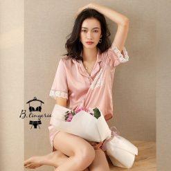 Đồ Pijama Ngắn Dễ Thương