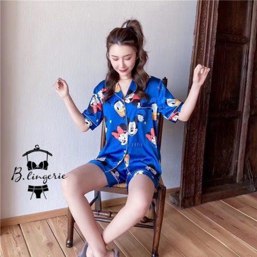 Đồ Pijama Ngắn Mickey Dễ Thương - BO971