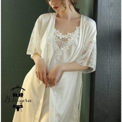 Váy Ngủ Kèm Áo Choàng