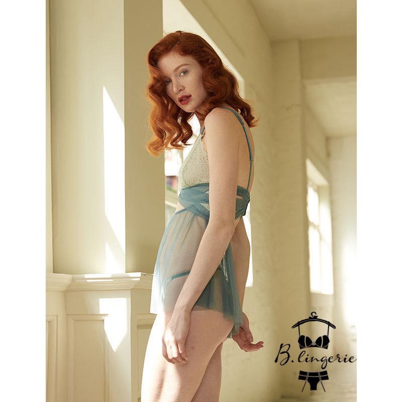 Váy Ngủ Ngắn Đẹp Gợi Cảm - D843