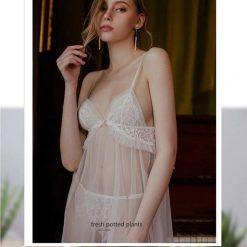 Váy Ngủ Đep Xuyên Thấu - D671