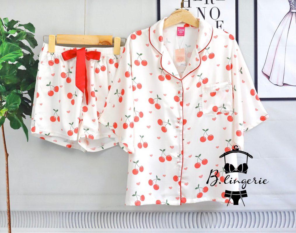 Đồ Ngủ Pijama Nữ Đẹp Cherry