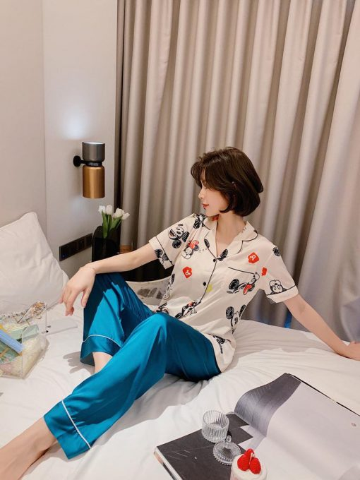 Pijama Ngắn Tay Quần Dài
