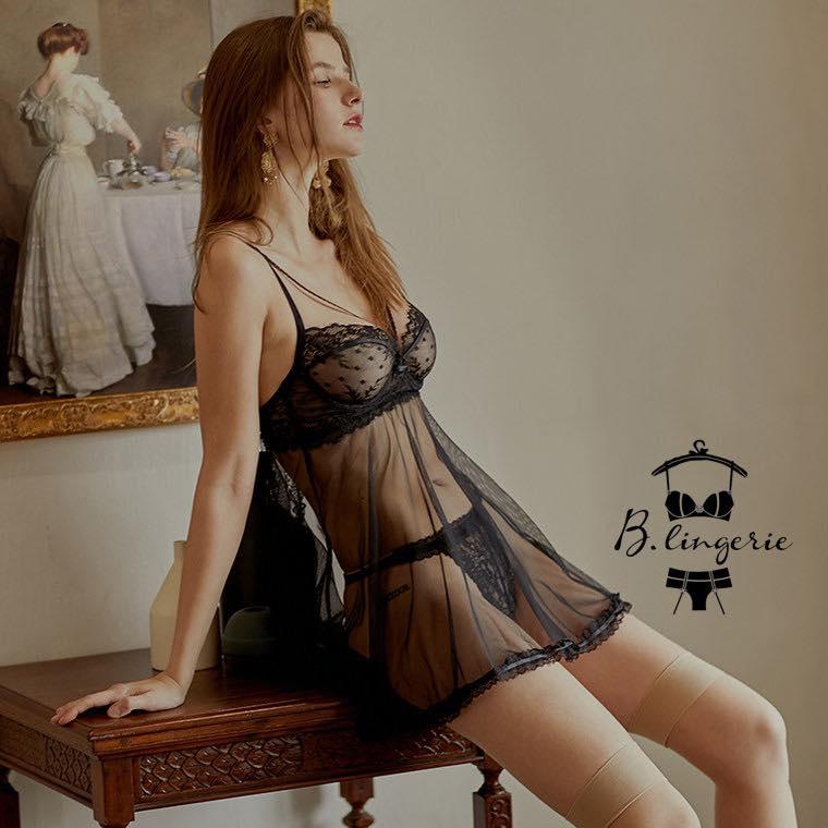 Đầm Ngủ Mỏng Manh Quyến Rũ - D585