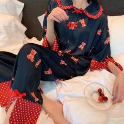 Bộ Đồ Ngủ Pijama Nữ Dài - BO910