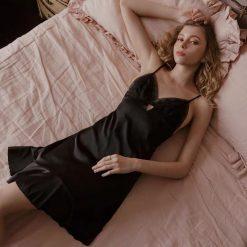 Đầm Ngủ Lụa Satin Gợi Cảm - D693