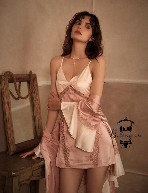 Đầm Ngủ 2 Dây Dễ Thương