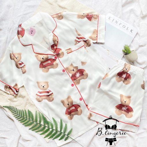 Đồ Ngủ Pijama Nữ Lửng Xinh Xắn - BO455