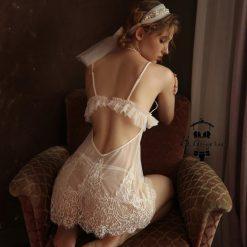 Đầm Ngủ Lưới Xuyên Thấu