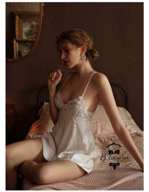 Đầm Ngủ Vải Thun Lạnh