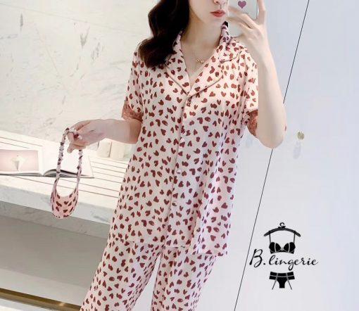 Đồ Bộ Pijama Nữ Lụa Cao Cấp