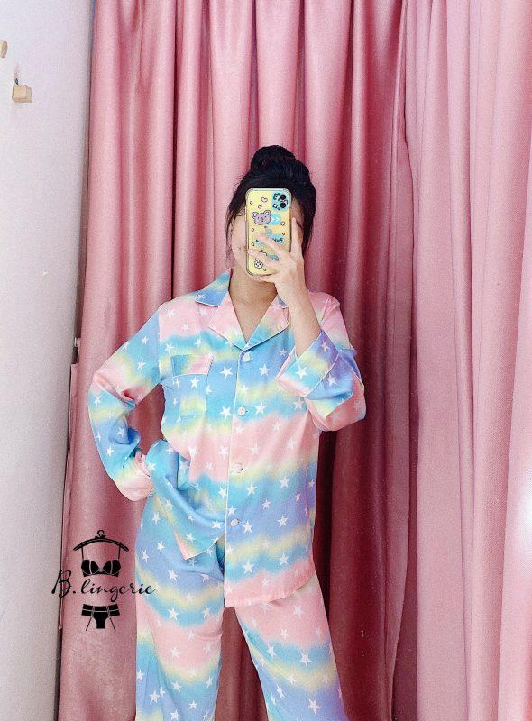 Đồ Bộ Pijama Tay Dài