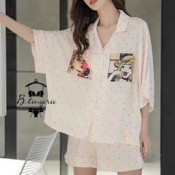 Đồ Ngủ Pijama Lửng