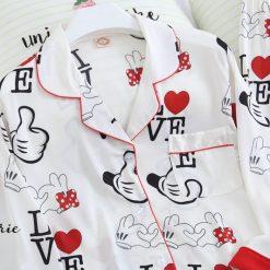 Đồ Pijama Lụa Satin