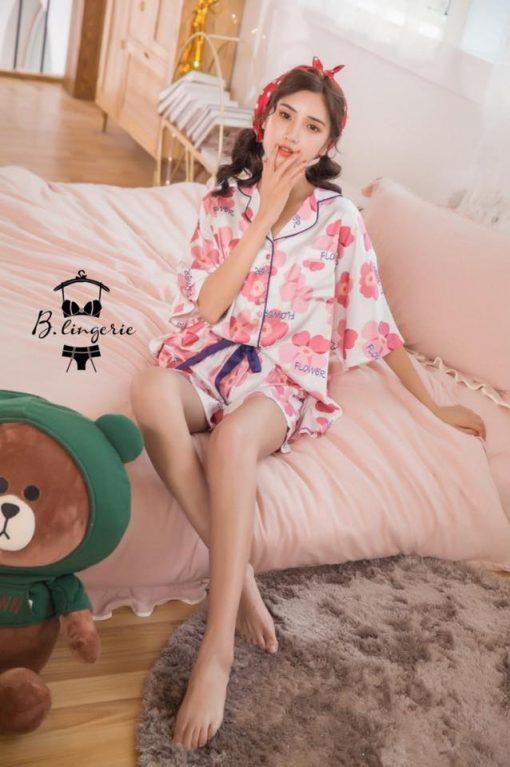 Đồ Pijama Ngắn Flower